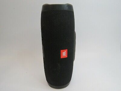 JBL Charge 3 Portable Waterproof Bluetooth Speaker - Black (S10)