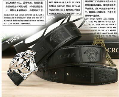 2019 New fashion luxury men and women belt Gold buckle High-end quality belt 22
