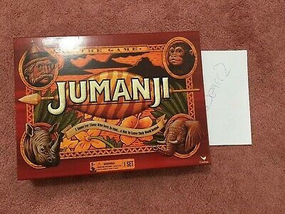 Jumanji The Game - Kids Toys Puzzles Board Games Fun Family - Free Shipping!