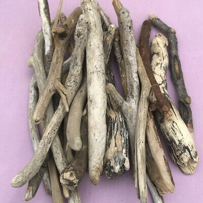 Driftwood Bundle 25xPieces Approx 9-15inches All UK Sourced Usable Crafting