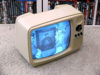 "Vintage 1980s Network Industries NW 1202 12"" Portable Television ~ Working Fine"