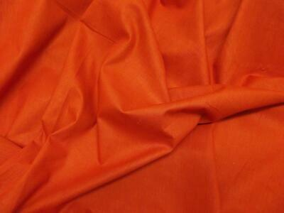 Quality Plain 60 SQ Pure Cotton Fabric Material - RUST