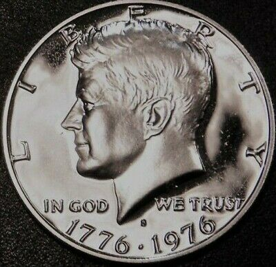 1976 P/&D Uncirculated Kennedy Half Dollar Pair in Original US Mint Cello