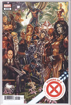 🔥 POWERS OF X #1 Mark Brooks Connecting VARIANT Cover C 1st Appearances NM+ 🔥