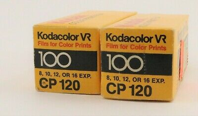 Kodak Kodacolor Vr Color Print Film Cp 120 Expired July 1986