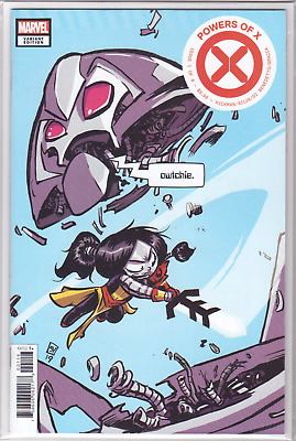 POWERS OF X #1 Skottie Young Rasputin IV VARIANT Cover P 1st Appearances! NM+ 🔥
