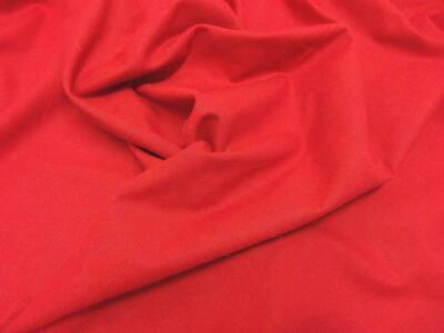 Quality Plain 60 SQ Pure Cotton Fabric Material - WINE