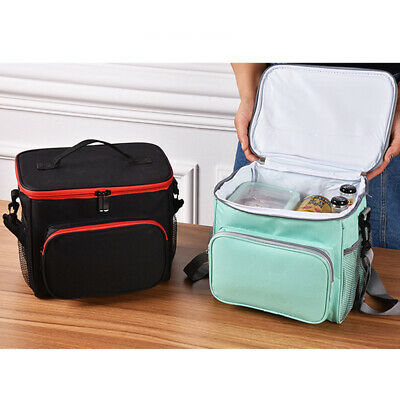 Thermal Insulated Cooler Lunch Box Carry Tote Picnic Case Storage Bag CZ