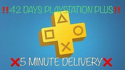 PSN PLUS 1.5 Month(3x14) DAY TRIAL - PS4 - PS3 - PS Vita - PLAYSTATION NO.CODE