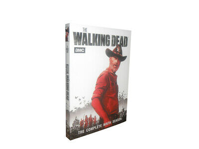 THE WALKING DEAD SEASON 9(DVD, 5-Disc Set) New Free shipping