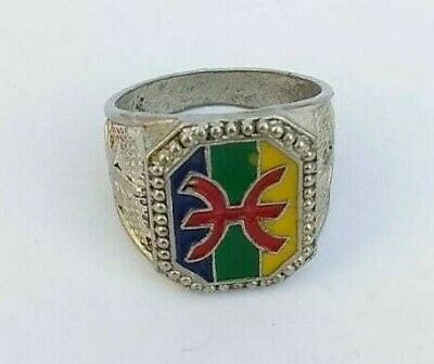 Extremely Ancient Rare Ring Berber Of Morocco Vintage Old Museum Quality
