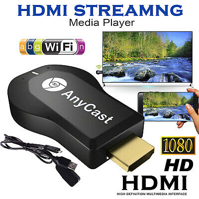 WiFi HDMI Anycast Miracast Airplay TV Wireless Display DLNA Dongle Adapter UK
