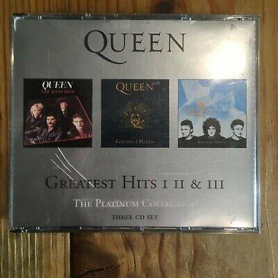 Queen - Platinum Collection, Greatest Hits I,II,III       3CD fatbox   (2000)