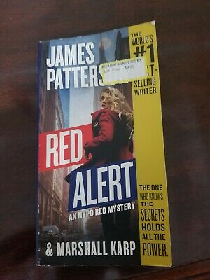 Red Alert An NYPD Red Mystery by James Patterson (2019, Paperback)