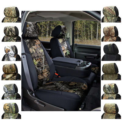 Coverking Mossy Oak Camo Custom Fit Seat Covers For Nissan Leaf