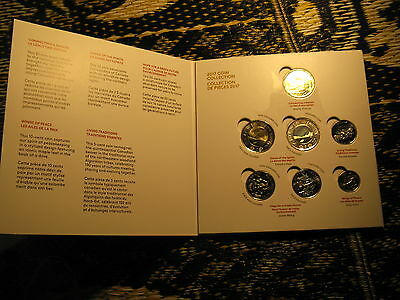 Canada 150 Years Celebrations 2017 Special Edition 7 Coins Mint Set.