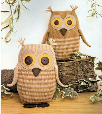 Twilleys Linnypin Collection Soft Toy Making Kit 2011 Tawny Owls