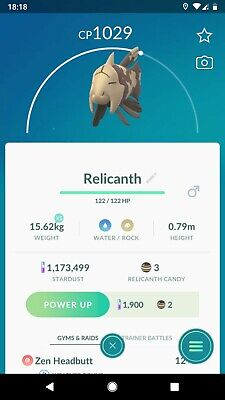 Pokemon Go Regional - Relicanth - Trade - Chance For Lucky?!