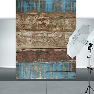 Retro Wooden Board Planks Texture Photography Background Cloth Backdrop Props