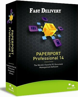 Nuance PaperPort 14.5 Professional | Lifetime License 3PC Key | Fast Delivery
