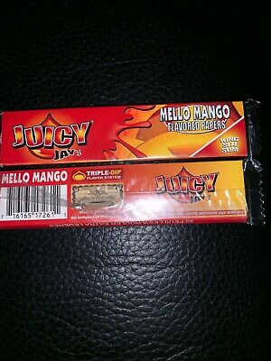 2x JUICY JAYS Flavoured KING SIZE Rolling Papers Smoking Tobacco Paper Flavours