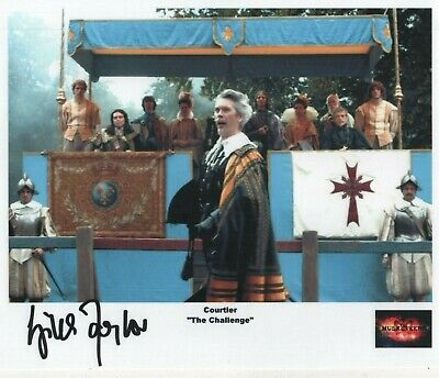 """The Musketeers Auto Photo Print Giles Taylor """"Courtier"""""""