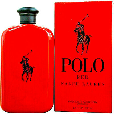 Polo Red Cologne by Ralph Lauren 6.7 oz EDT Spray for Men NEW  FREE SHIPPING