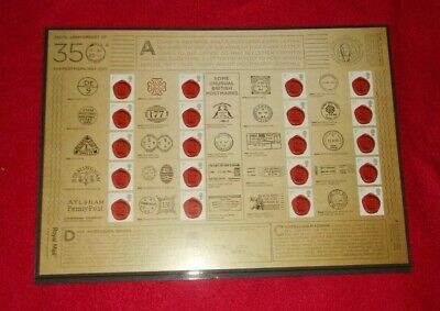 Royal Mail Mint Stamps Commemorative Sheets / Generic Smiler And Stamps Sheets