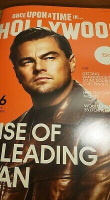 Once Upon a Time in Hollywood Magazine Quentin Tarantino Leonardo DiCaprio RARE