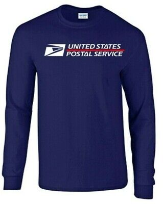 USPS Postal Long Sleeve T-Shirt with Great Quality Shirt