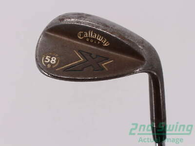 Callaway X Forged Vintage Wedge Lob LW 58° Steel Stiff Right Handed 35.5in