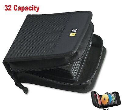 Cd Case For Car Dvd Carrying Wallet Binder Storage Holder Small Organizer Travel