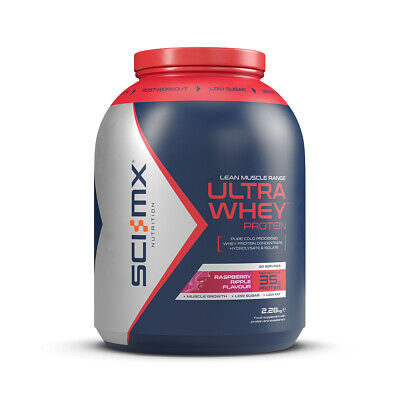 SCI-MX ULTRA WHEY PROTEIN 2.28kg 2280g RAPID RELEASE FAST ACTING WHEY POWDER
