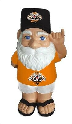 Wests Tigers NRL Hawaiian Style Garden Gnome