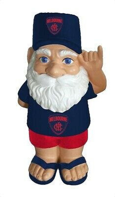 Melbourne Demons AFL Hawaiian Style Garden Gnome