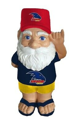 Adelaide Crows AFL Hawaiian Style Garden Gnome