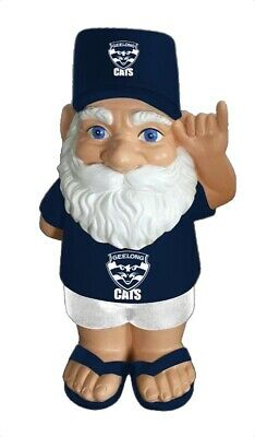 Geelong Cats AFL Hawaiian Style Garden Gnome