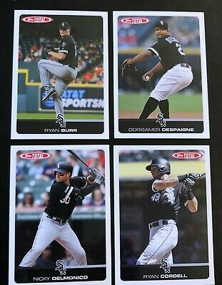 2019 Topps Total Wave 7 Team Set WHITE SOX x4 Despaigne, Delmonico, Cordell Burr