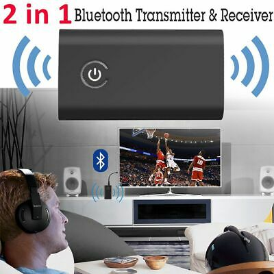 Wireless Music Adapter Bluetooth 4.1 3.5mm Audio Cable Receiver & Transmitter