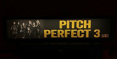 "Pitch Perfect 3 (2017) Large Movie Theater Mylar 5"" X 25"""