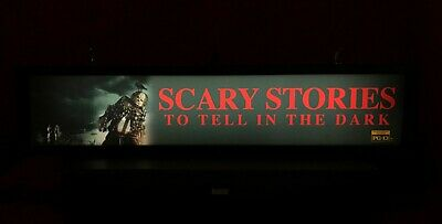 "Scary Stories To Tell In The Dark (2019) Large Movie Theater Mylar 5"" X 25"""