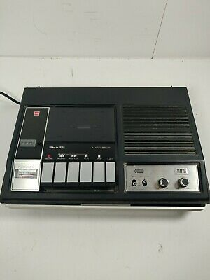 Sharp Tape Recorder RD-465UA Tested Works