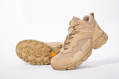 ROCKROOSTER Men's Hiking Boots Tactical Boots Shoes Slip Resistance Breathable