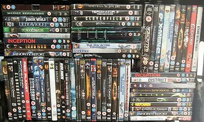 Collection of Horror/Slasher/Ghost/Supernatural/Scary DVD Movies Job Lot #12438