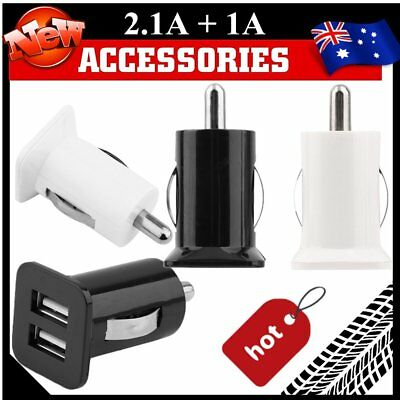 Universal Dual USB 3.1A 12V 24V Car Socket Cigarette Lighter Adapter Charger MS
