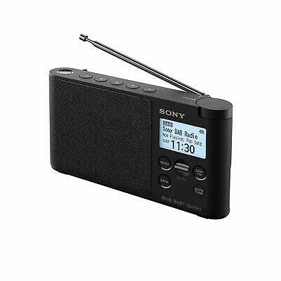 Sony XDR-S41D Portable DAB/DAB+ Wireless Radio with LCD Display - Black