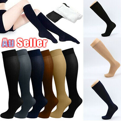 Flight Support Stockings Compression Socks 23-32mmHg Travel 2019 Medical