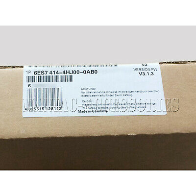1pc new Siemens 6ES7 414-4HJ00-0AB0 CPU DHL free shipping