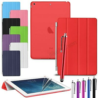 Magnetic Smart Stand Case Cover For Apple iPad 6 2017/2018 Pro 9.7 Air 1  2 Mini