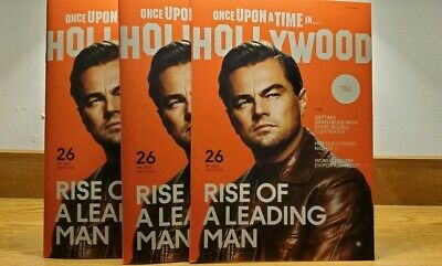 Set of 3 Three Once Upon a Time in Hollywood Promo Magazines Quentin Tarantino